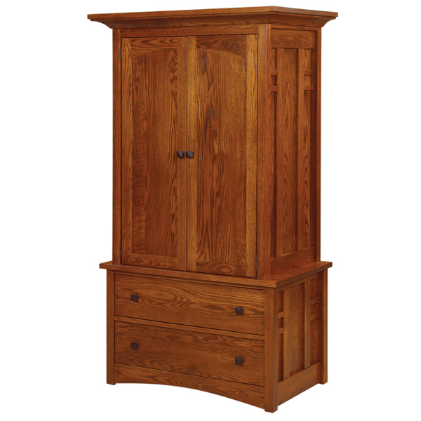 Kascade 2 Drawer Armoire