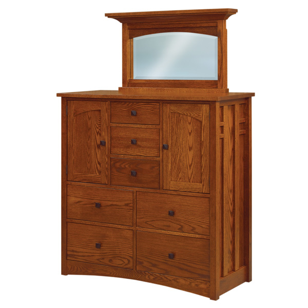 Amish Kascade His & Hers Chest | Amish Furniture | Shipshewana Furniture Co.