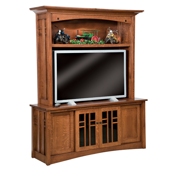 Amish Kascade TV Cabinet | Amish Furniture | Shipshewana Furniture Co.