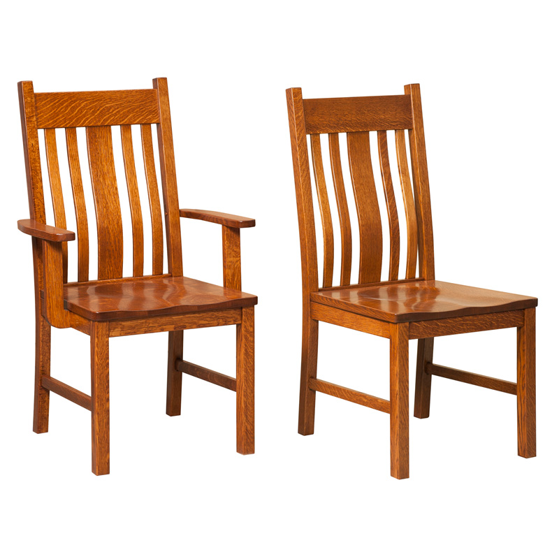 Amish Dining Chairs Amish Furniture Shipshewana