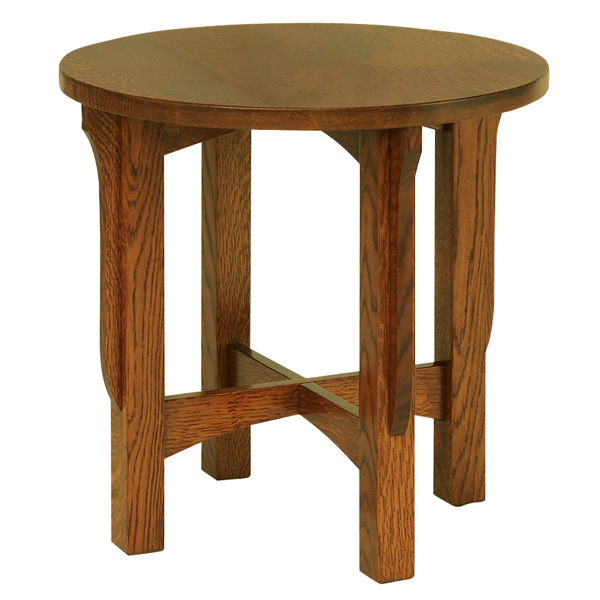 "Lancaster 22"" Round End Table"