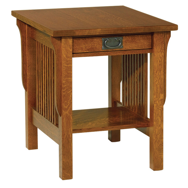 "Lancaster End Table 26""H"