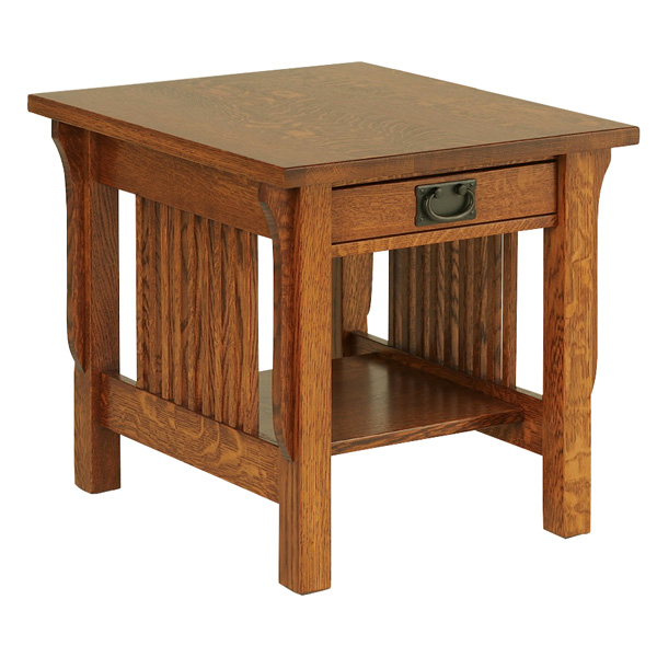 "Lancaster End Table 22""H"