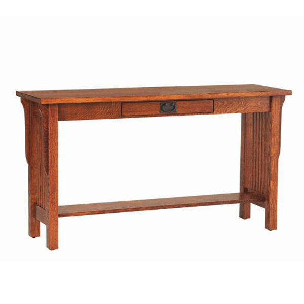 Amish Lancaster Sofa Table | Amish Furniture | Shipshewana Furniture Co.