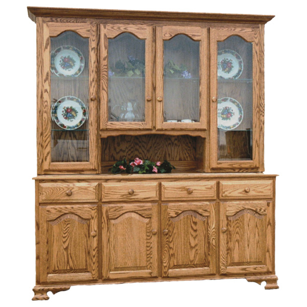Amish Lasalle Hutch | Amish Furniture | Shipshewana Furniture Co.