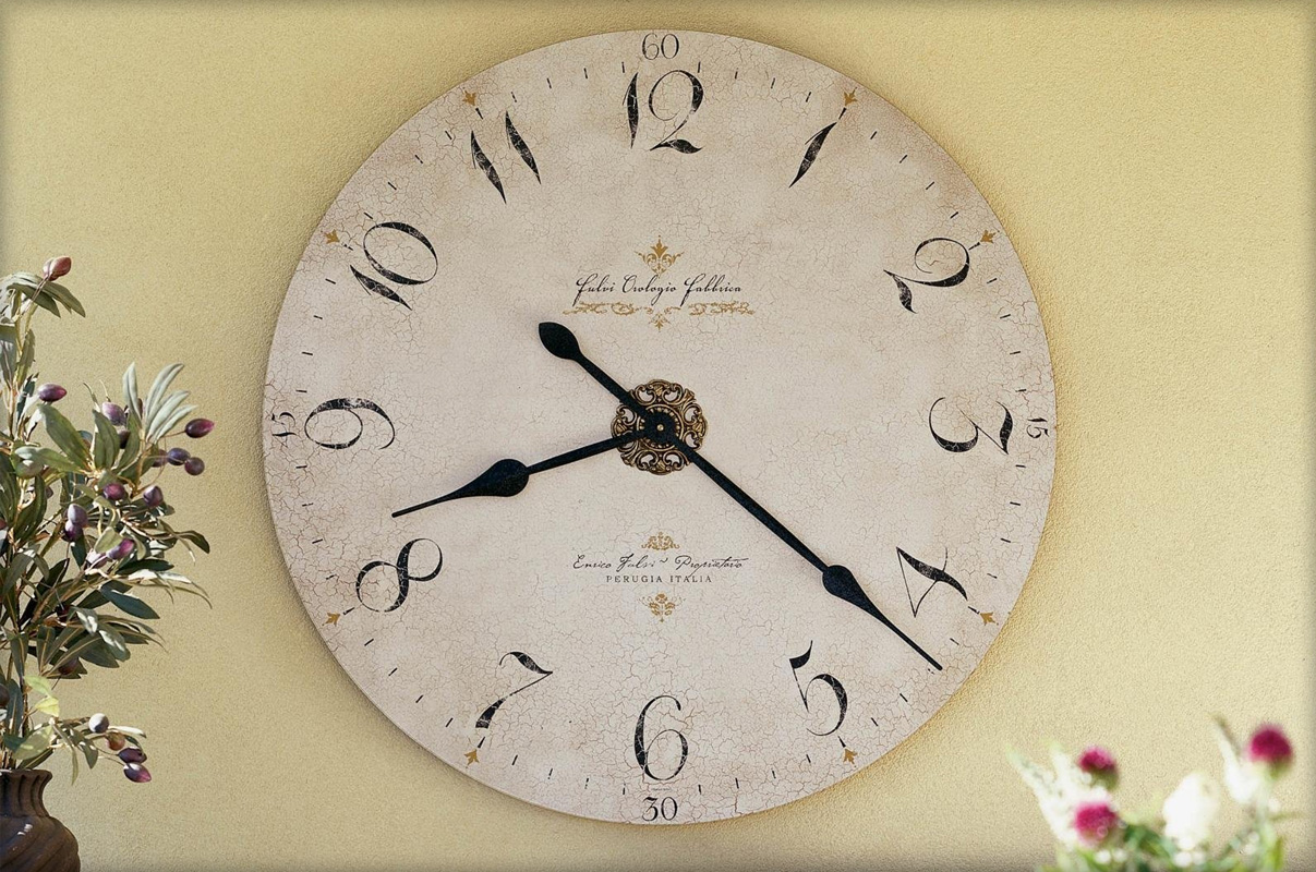 Часы своими руками на стене
