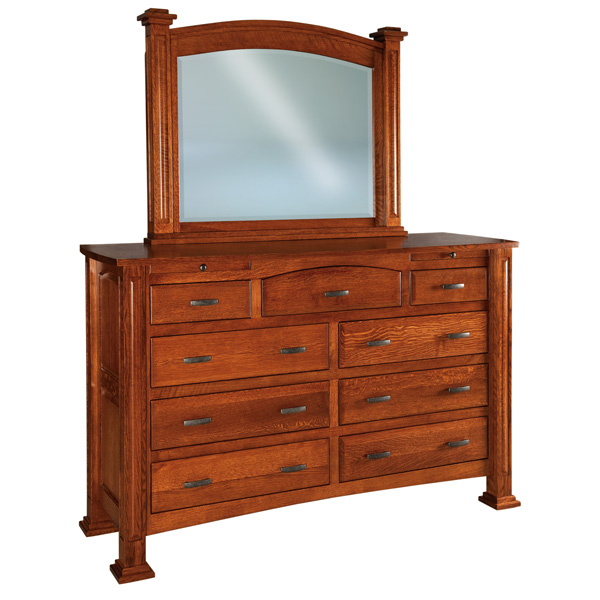 Lexington 9 Drawer, 2 Jewelry Drawer Dresser