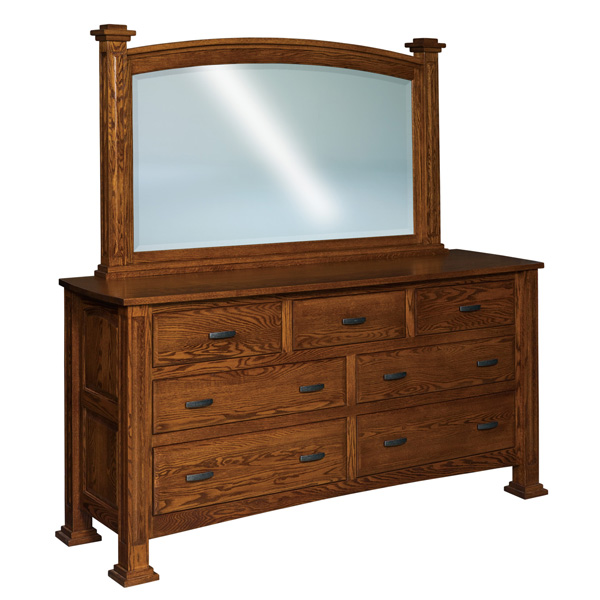 Lexington 7 Drawer Dresser 76""