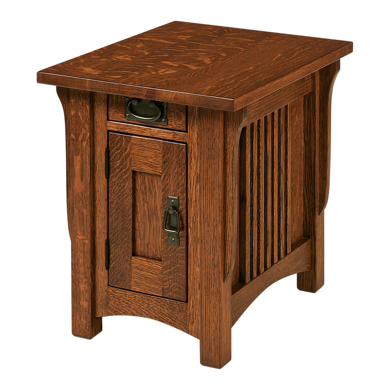 "Lombard End Table 17""W"