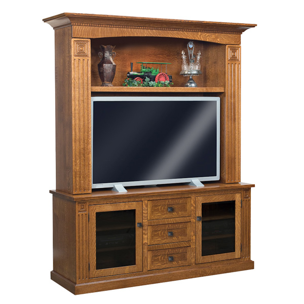 Amish Manhattan Mission Home Theater | Amish Furniture | Shipshewana Furniture Co.