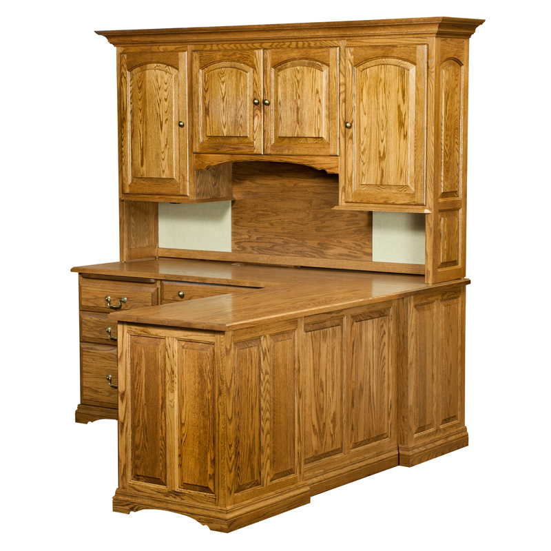 Mannington Corner Desk Hutch Top Rlkla 6283 L