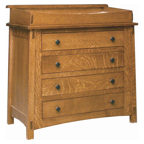 Amish McCoy 4 Drawer Dresser | Amish Furniture | Shipshewana Furniture Co.