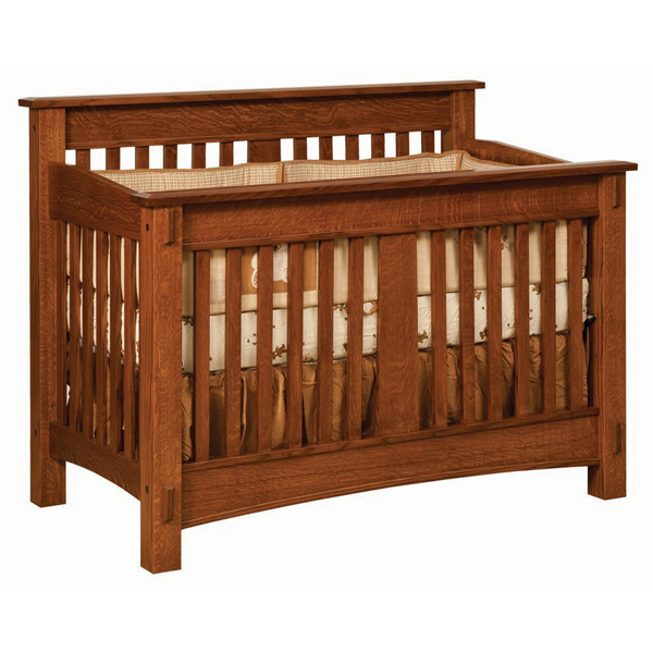 Amish McCoy Crib | Amish Furniture | Shipshewana Furniture Co.
