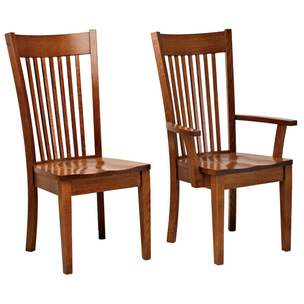 Meridian Dining Chairs | Amish , Amish Furniture | Shipshewana ...