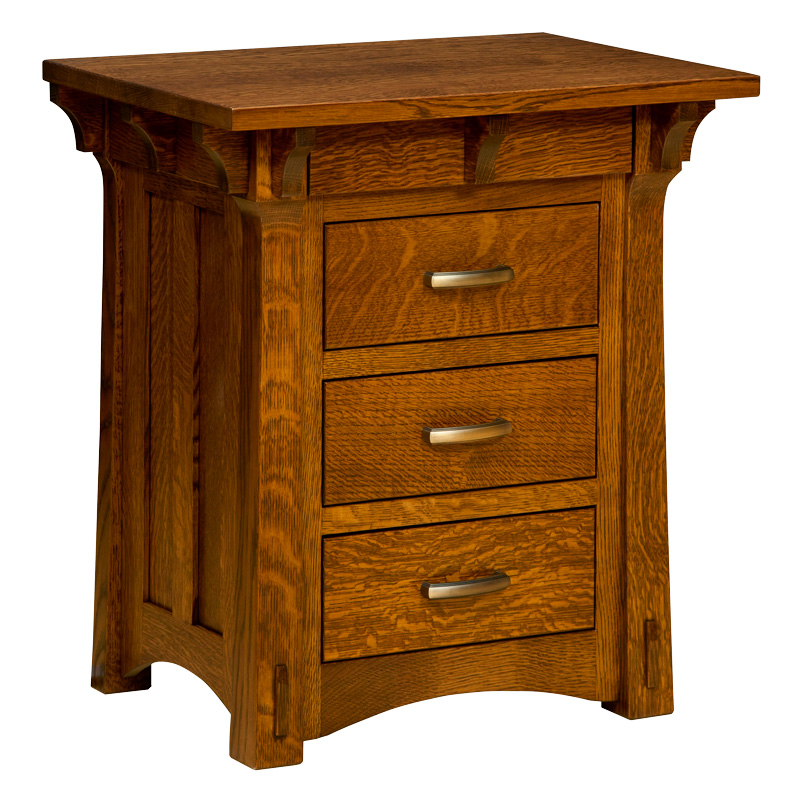 "Miriam 4 Drawer Nightstand 30""H"
