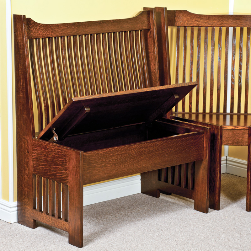 Amish Mission Breakfast Nook | Amish Furniture | Shipshewana Furniture Co.