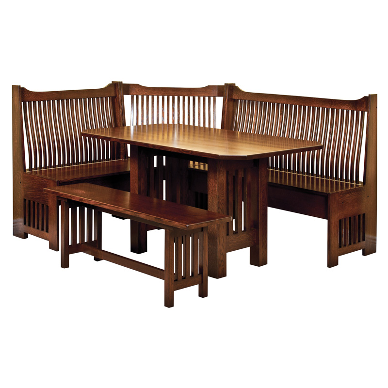 more information amish mission breakfast nook amish furniture shipshewana furniture co amish corner breakfast nooks