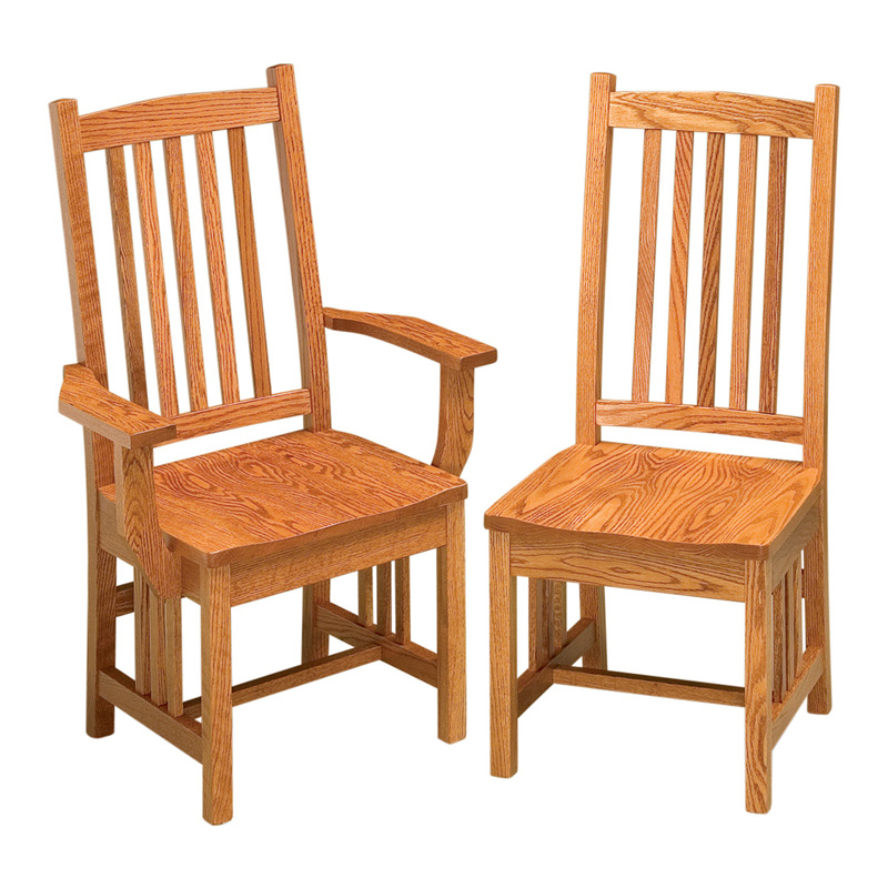 Mission Dining Chairs  sc 1 st  Shipshewana Furniture Co. & Mission Dining Chairs | Shipshewana Furniture Co.