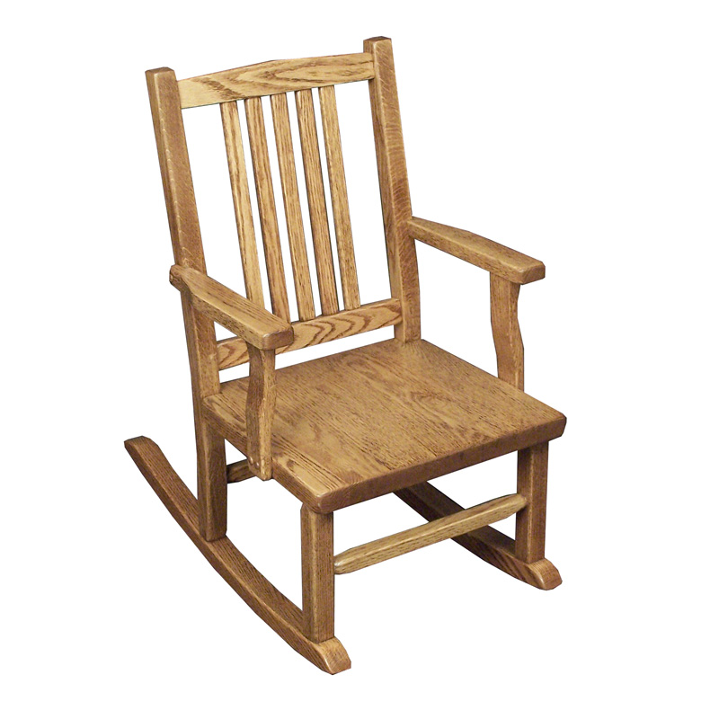 Amish Mission Childs Rocker | Amish Furniture | Shipshewana Furniture Co.