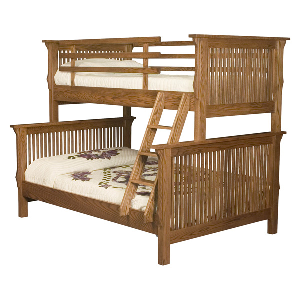 Amish Mission Bunk Bed | Amish Furniture | Shipshewana Furniture Co.