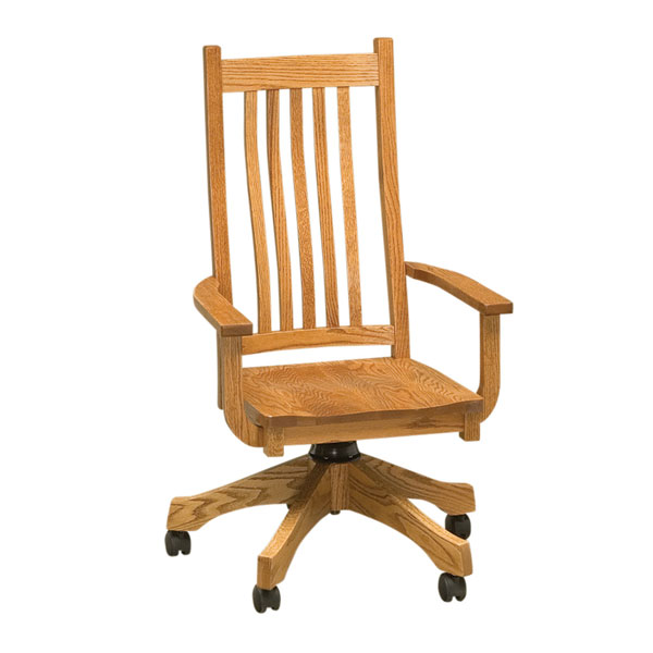 Mission Desk Chair | Amish Furniture, Amish Furniture ...