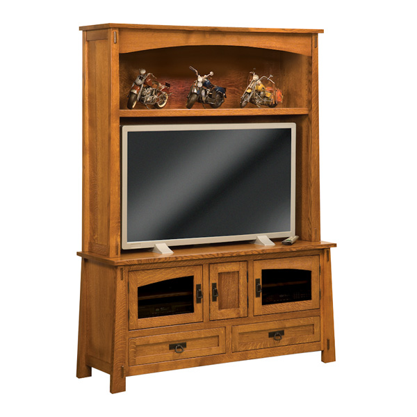 Amish Modesto TV Cabinet | Amish Furniture | Shipshewana Furniture Co.