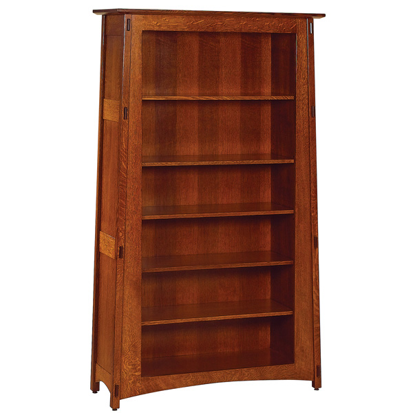 Amish Montana Open Bookcase   Amish Furniture   Shipshewana Furniture Co.
