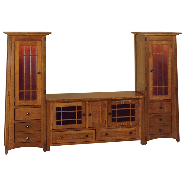 Amish Montana Entertainment Center | Amish Furniture | Shipshewana Furniture Co.