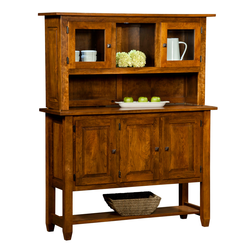 Amish Montego Hutch | Amish Furniture | Shipshewana Furniture Co.