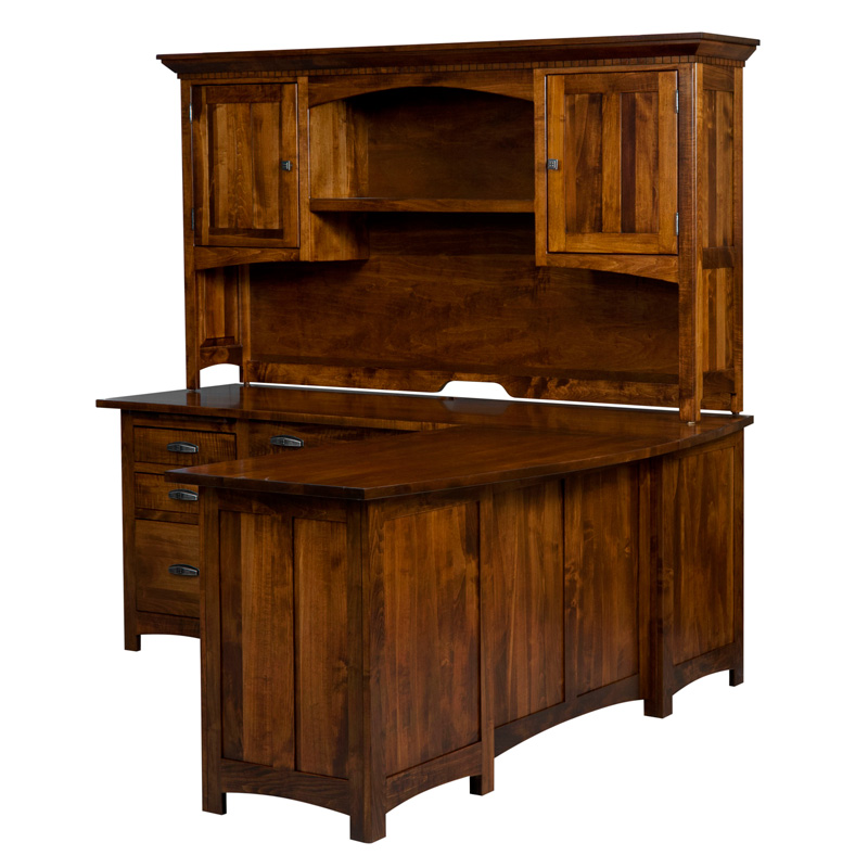 Oakwood L Desk