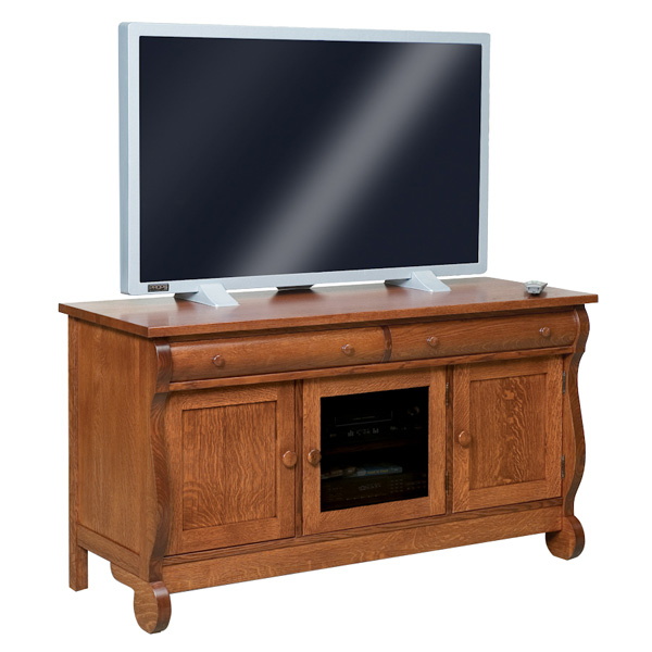 "Old Classic Sleigh 60"" TV Stand"
