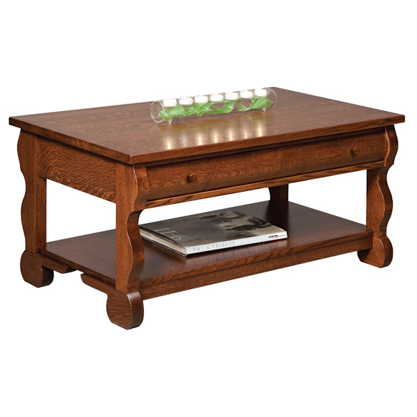 Old Classic Sleigh Open Coffee Table