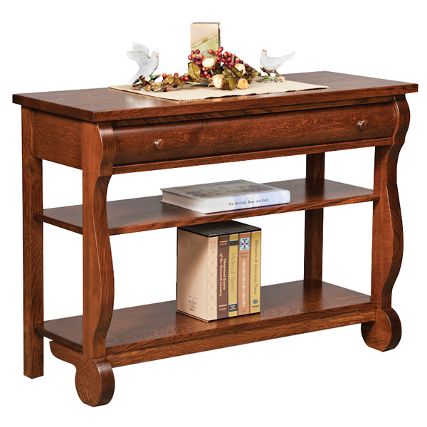 Old Classic Sleigh Open Sofa Table