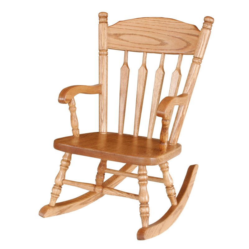 Amish Plain Childs Rocker | Amish Furniture | Shipshewana Furniture Co.