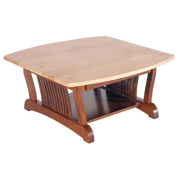 Royal Mission Coffee Table 36x36 Square