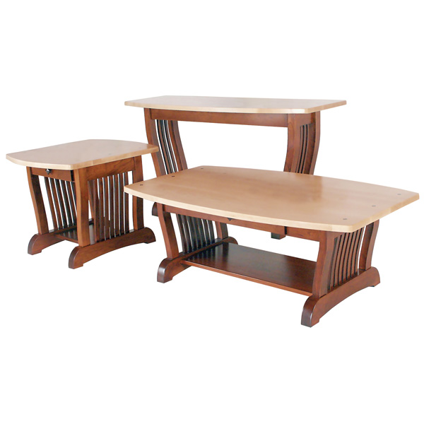 More Information Amish Royal Mission Sofa Table Amish Furniture Shipshewana Furniture Co
