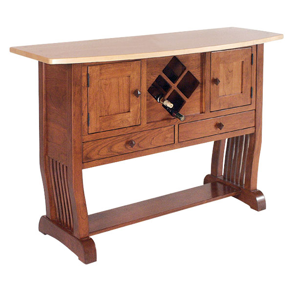 Royal Mission Wine Rack Sideboard