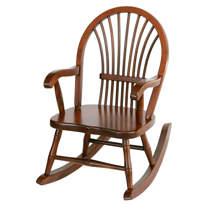 Amish Sheaf Childs Rocker | Amish Furniture | Shipshewana Furniture Co.