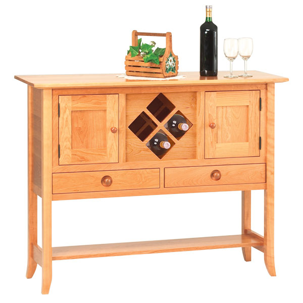 Solomon Creek Wine Rack Sideboard