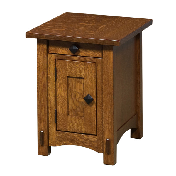 Sommerland Cabinet End Table 16 W