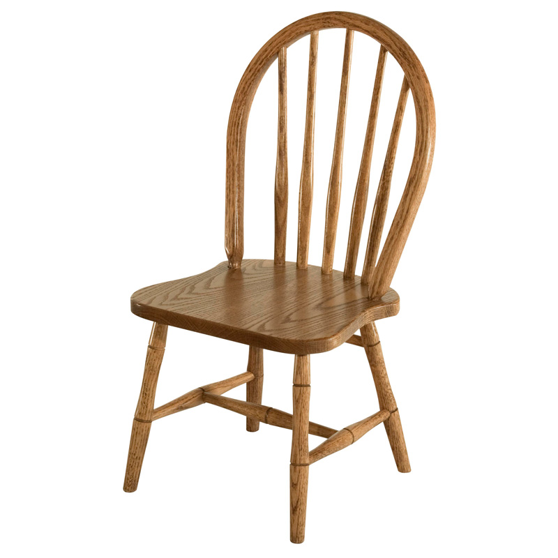 Amish Spindle Bow Childs Chair