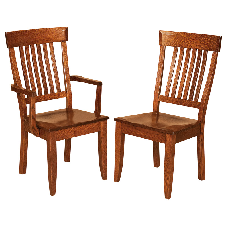 Simple Amish Dining Chair Chairs Furniture Shipshewana Co Intended Decorating Ideas