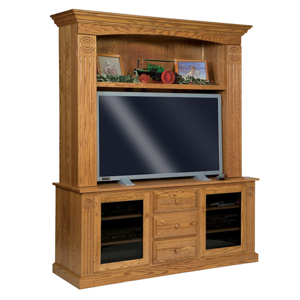 Victorian Tv Stand: Amish Entertainment Centers