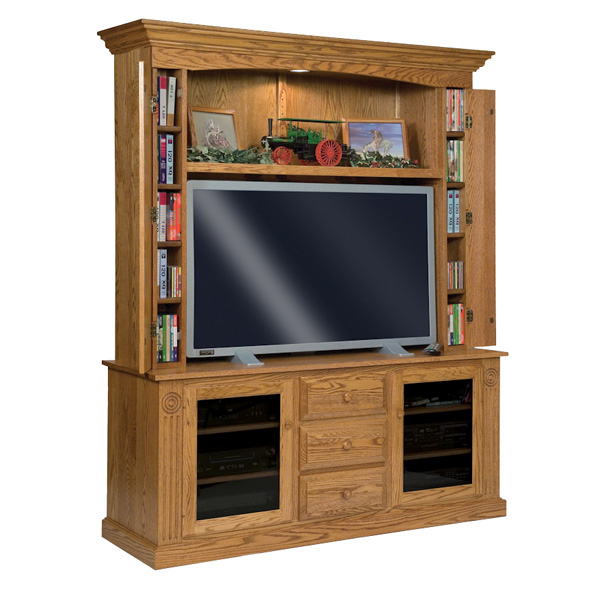 Amish Victorian Home Theater | Amish Furniture | Shipshewana Furniture Co.