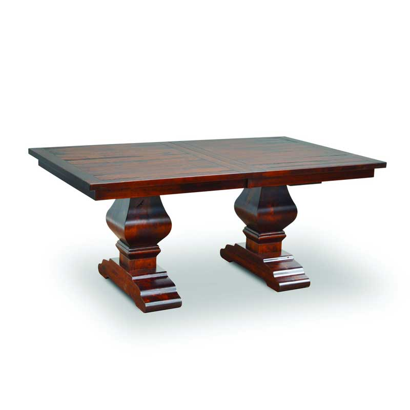 Amish Wentworth Trestle Dining Table | Amish Furniture | Shipshewana Furniture Co.